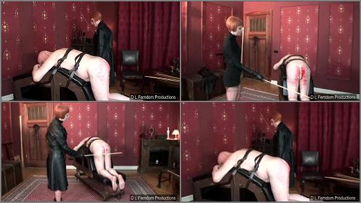 Corporal Punishment – D L FEMDOM PRODUCTIONS – Caned for a Confession –  Liza
