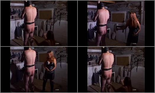 Domina – DOMA SMTV! Fetishes from Amsterdam – Prepared for asswhipping