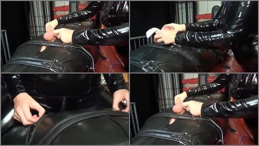 Nude – DOMA SMTV! Fetishes from Amsterdam – Tied up Balls –  Mistress Dinah