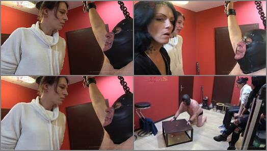 Femdom – Dangerous-Girls – Harassed And Spitting All Over