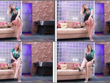JOI Games - Danielle Maye - Leg Cross Cum Countdown