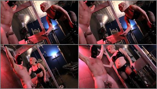Latex – Den of Iniquity – Cock Attack  Starring Domina Helena