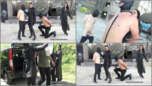 Boots – Dirty Dommes – TAKEN FOR FORCED SLAVERY PART 1 –  Madame Catarina and Fetish Liza