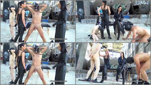 Gloves – Dirty Dommes – TAKEN FOR FORCED SLAVERY PART 2 –  Madame Catarina and Fetish Liza