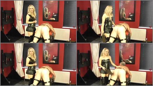 Blondes – Divine Goddesses – Old Sub Beaten By Mistress Courtney –  Mistress Courtney