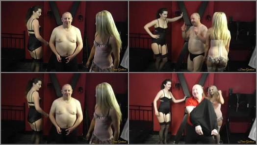 Double Domination – Divine Goddesses – The Humiliation Dance –  Porcelain Beauty and Mistress Courtney
