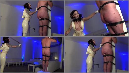 Lashing – DomNation – MY BULLWHIP IS THE COST OF MY AFFECTIONS! Starring Mistress Cybill Troy