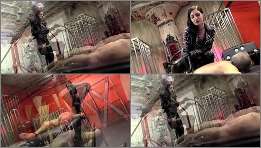 Slave – DomNation – TWO WHIPS FOR TWO ASS CHEEKS PART TWO –  Mistress Cybill Troy
