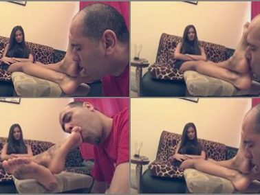 Foot kiss - EVIKE - Foot Fun After Party - Lick My Dirty Feet! - Dirty Foot Worship And Humiliation