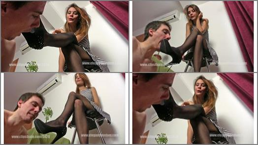 Boots – Elegant Femdom – Mistress Lucy – Shoe licking before date