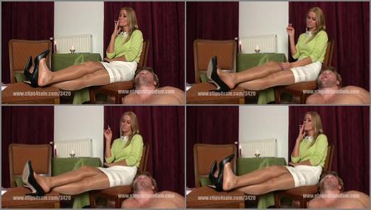 Elegant femdom  efcl473 human ashtray   Lady Demona preview