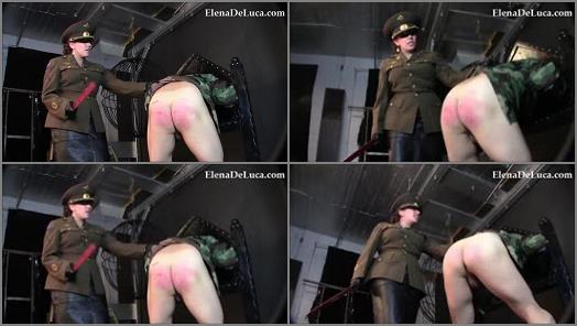 Elena De Luca Fetish and POV  Maam Yes Maam  CORPORAL PUNISHMENT preview