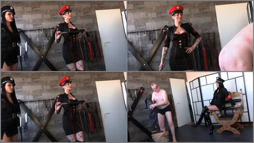 FEMDOMPOVCLIPS  An Initial Whipping   Miss Jayla And Mistress Medina  preview