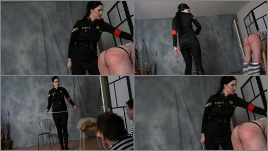 2 Slaves – FEMDOM-POV-CLIPS – Punishmentday In Block C –  Mistress Nemesis