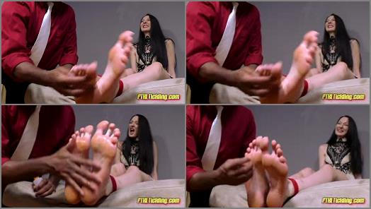 Tickle feet - FTKL's Tickling Fantasies - Laughing Lady Crooks! Pt. 56 Ekaterina's Tickle Interrogation!