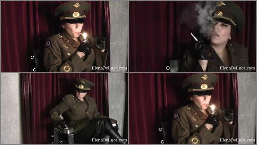Fascist FemDom  Smoking General POV   Elena De Luca  preview