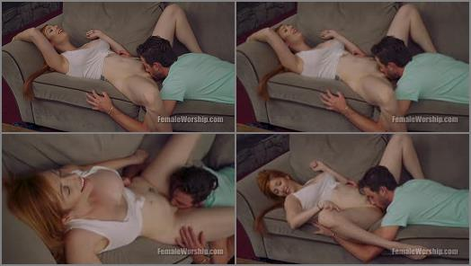 Pussy Licking –  Female Worship – Show Me How Much You Want Me –  Lauren Phillips