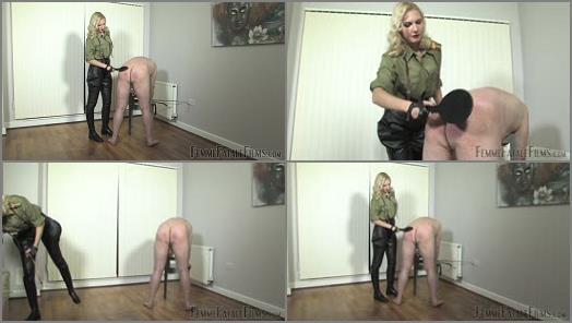Whip – FemmeFataleFilms – Military Discipline. Part 1 –  Mistress Akella