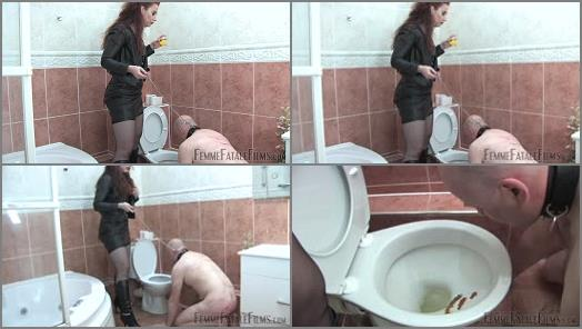 Femme Fatale Films  Toilet Licker  Complete Film   Mistress Lady Renee  preview