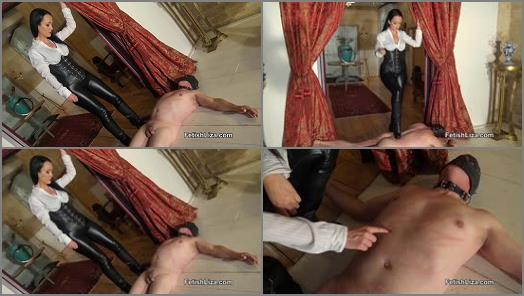 Leather Pants – Fetish Liza Clips – Suffer Under My Leather Boots (Trampling Femdom)