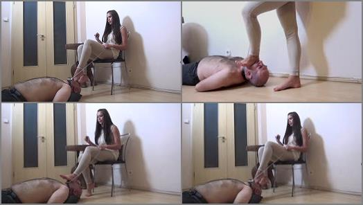 Foot Humiliation –  Foxy Footdom and Trampling – Elegant – Worship My Sexy High Heel Sandals – Shoe Worship And Domination –  Lady Alice