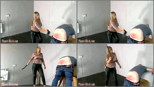 Female Domination – Fullforce Spanking – When Carter says your getting punished, she means it. pt1 –  Miss Carter