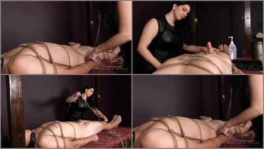 Bondage Male – Goddess Alexandra Snow – Electro Slave Part 1: Bondage