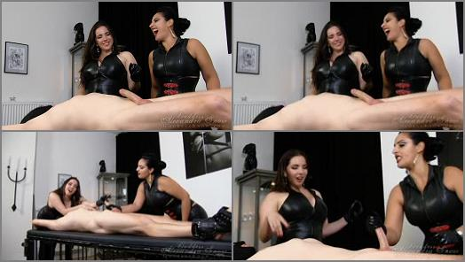 Forced Male Orgasm – Goddess Alexandra Snow – Grueling Forced O Duo –  Mistress Ezada Sinn