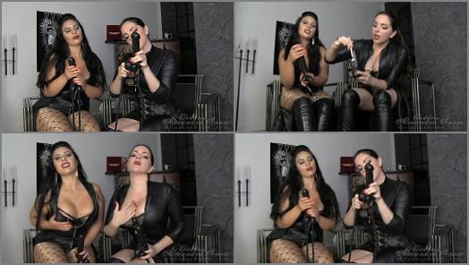 Submissive Slave Training – Goddess Alexandra Snow – One Month CBT & Ruined Orgasm Assignment, Task 2 –  Goddess Alexandra Snow and Mistress Ezada Sinn