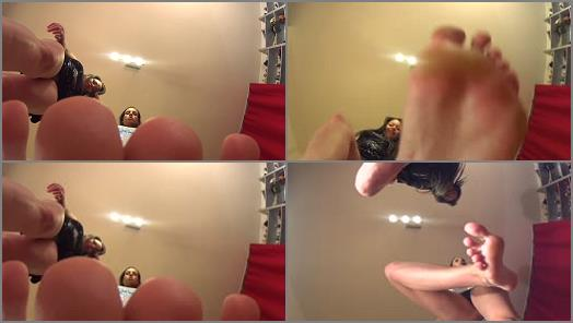 Toes fetish – Goddess Rea Longest Legs – REA And TRICIA – Party Mood – Giantess (GO PRO Camera)