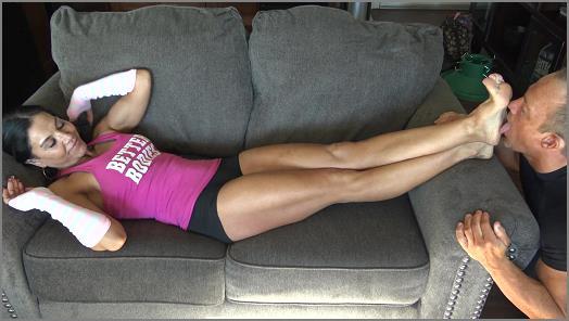 Goddess Zephy  Zephys stinky workout feet  preview