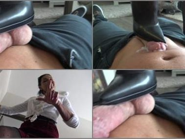 High Heels -  Goddess Zephy – (painful) Shoe job