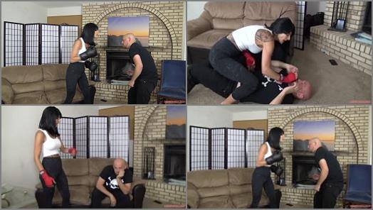 Mixed Wrestling – HD FEMDOM SUPERSTORE – Beatdown by Mistress Arena Rome 2