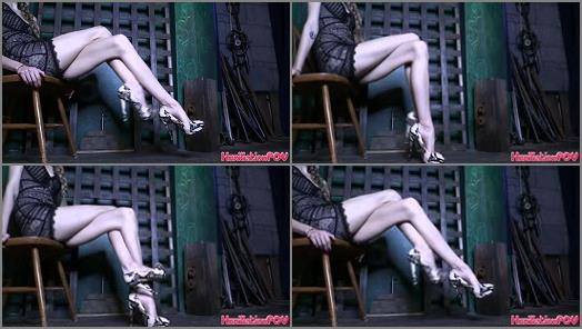 Goddess Kyaa –  Humiliation POV – Focus On My Legs And Feel Your Loser Brain Go Mushy And Dumb
