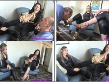 Stinky shoe - Jasmine Mendez, Taylor Knight - cab driver turned into foot bitch