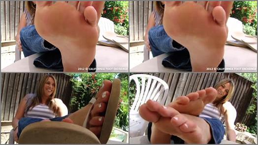 Toes fetish - Jessica