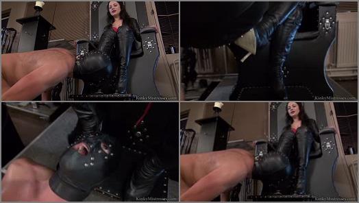 KinkyMistresses  Ella Kros  Extreme Boot Worship  Complete Film preview