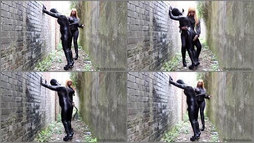 Humiliation – KinkyMistresses – Mistress Ava Black -The Whipped Fetish Slave – Complete Film