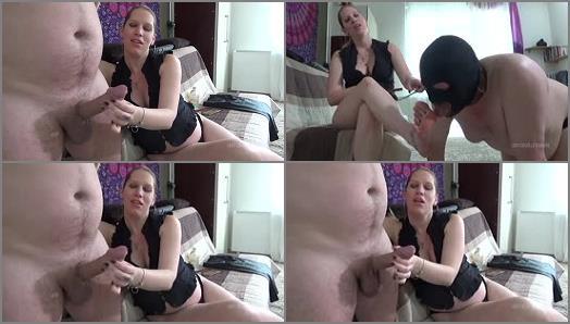 Handjob – Lady Cruellas games – Teacher in trouble – Foot cuckold