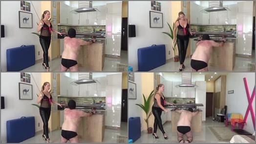 Corporal Punishment – Lady Cruellas games – The beaten landlord – Cruel caning