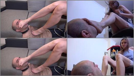 Feet slave - Lady Kassy - Fairytale - Foot Worship And Domination