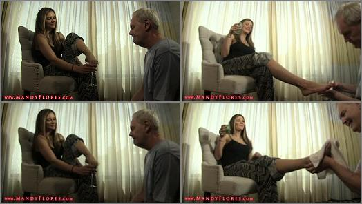 Realtime – Mandy Flores – Grey Goose Toes: Foot Worship feat Mandy Flores