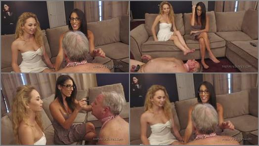 Men Are Slaves  Such A Pretty Little Whore   Dava and Angel preview