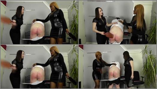 Mistress Ava Black – Miss Jessica's Punishments UK – Stinky colleague –  Jessica and Ava