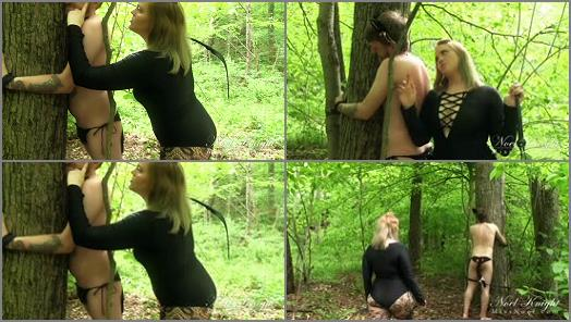 Human Pet –  Miss Noel Knight – Cat Boy Gets Punished
