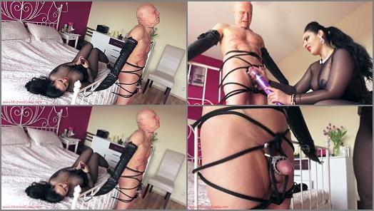 Forced Male Orgasm – Mistress Ezada Sinn – Milking Chastity