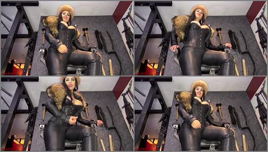 Jerk Off Instruction – Mistress Ezada Sinn – Rub your cock clean for Me