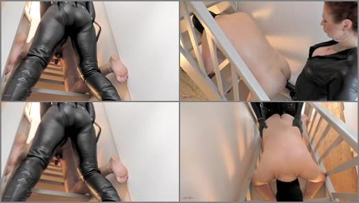 Mistress Lady Renee  Fucked on the stairs  preview
