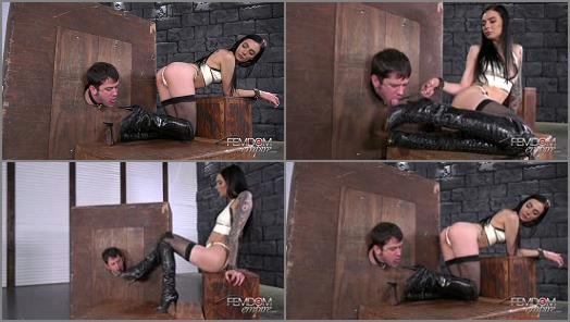 Boots fetish - Mistress Marley Brinx - Boot Scum Sucker