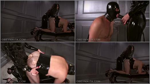Dildo Fucking – Mistress Nikita FemDom Videos – Obey Nikita – High Heeled Fuck Slut